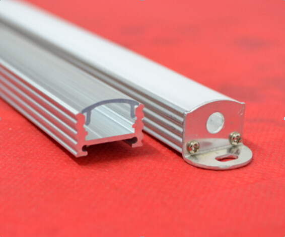 Free Shipping 2000mmX17.3mmX10mm China manufacturer customized grade aluminium profile for led strips,aluminium profile led(China (Mainland))