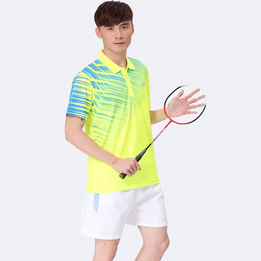 2016 Badminton sets, Badminton Jerseys, Men Badminton Sports Quick Dry clothes, Badminton uniforms Shirt(China (Mainland))