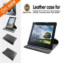 Free shipping Case for Asus Transformer Pad TF300T TF300 10.1″ tablet 360 Degree Rotating Folding Cover