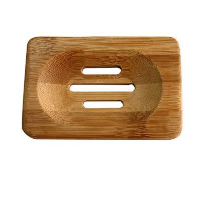 Hot Sales Plate Bathroom Decor Bamboo Soap Dish Containers Bath Shower Soap Holder Box(China (Mainland))