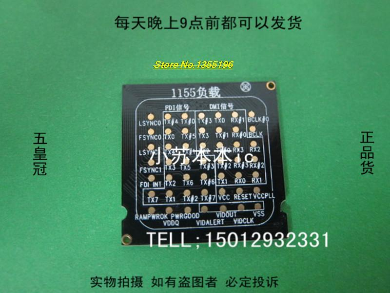 1PCS 1155 CPU test socket 1155 motherboard repair dummy load dummy load in stock(China (Mainland))