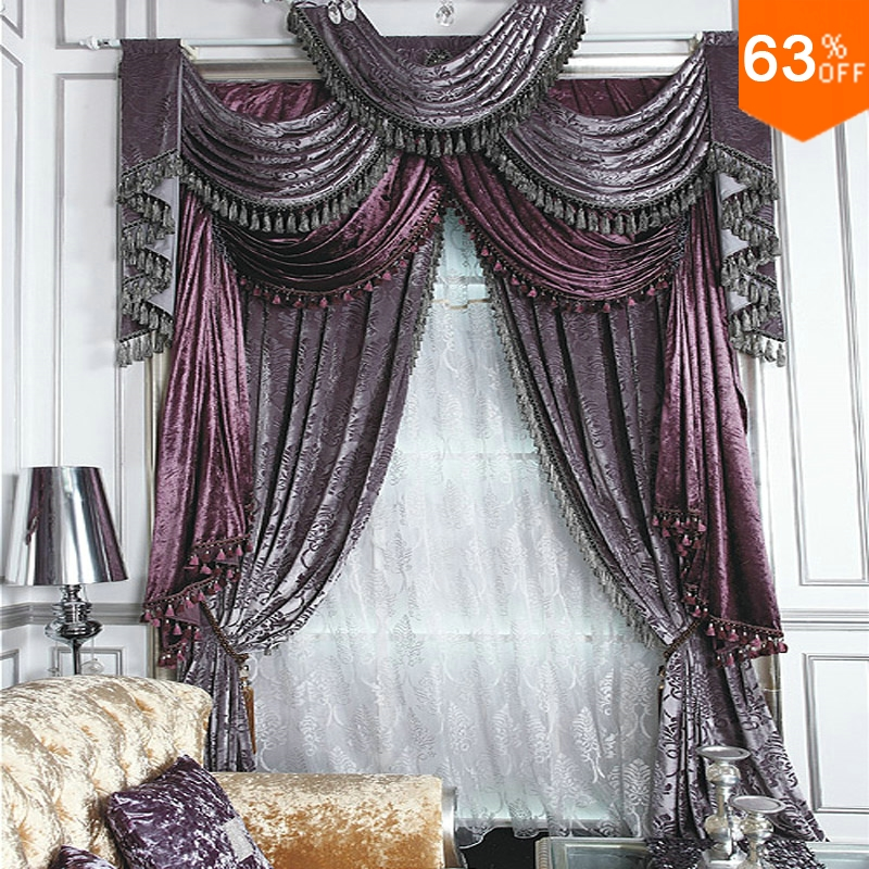 High Quality Elegant Living Room Curtains Promotion-Shop For High