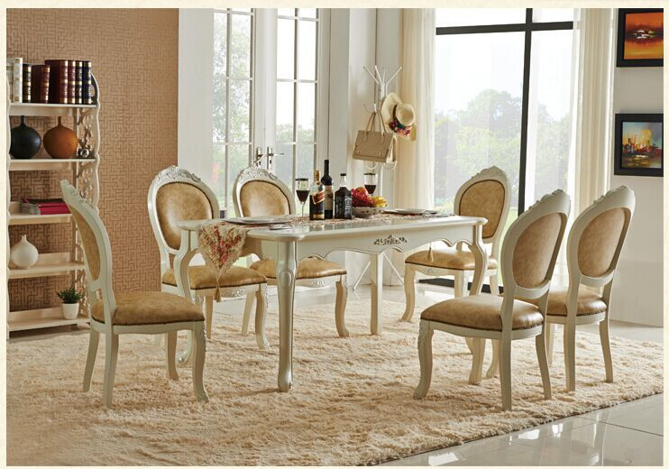Newest Wholesale Europe classic style dining room sets furniture ...