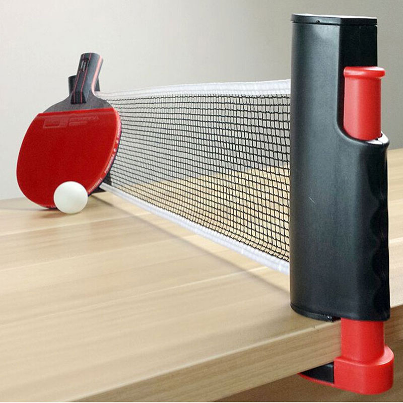 New Arrival Games Retractable Table Tennis Ping Pong Portable Net Kit Replacement 2 Colors