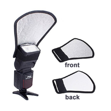 Buy Flash Soft Diffuser Silver/White reflector CANON 600EX-RT 580EX 430EX II 420EX II Nikon SB910 SB900 SB800 SB700 SB600 for $5.69 in AliExpress store