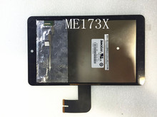 Free Shipping  Full LCD Panel + Touch screen Digitizer Assembly For Asus MeMO Pad HD7 ME173 ME173X K00b Replacment N070ICN-GB1(China (Mainland))