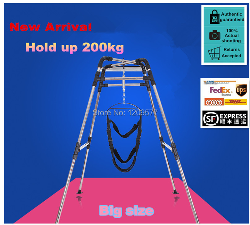 Multi-purpose Sex Swing Stand and Wrist restraints Clamp belt for couples/Children/Yoga(China (Mainland))