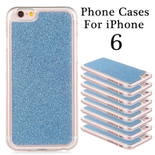 Fashion Protective Soft TPU Colorful Cute Rainbow Smart Mobile Phone Back Cover Case Shell For Apple iPhone 6 Bag Covers Cases
