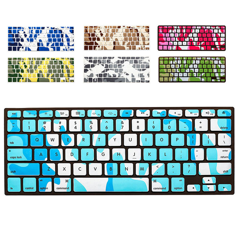 New 1pcs English key board Soft Keyboard Alphabet Silicone Cover Case Protect Skin For MacBook Pro 13''-15'' For MacBook Air Pro(China (Mainland))