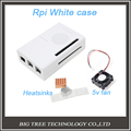 Raspberry Pi 2 Model B White Case Cover compatible with RPI B plus Raspberry Pi Aluminum