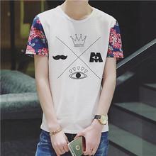 Men's City Off White Fashion O-neck T-Shirt Male 5XL Usa Soccer Mailot Psg Juventus Jersey 2016 2017 Short Sleeve Tee Shirt Men(China (Mainland))