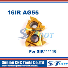 Buy Free 16IR AG55 Carbide Threading Inserts 55 Deg Internal Threading Tips,Indexable Inserts Threaded Lathe Holder SIR for $26.09 in AliExpress store