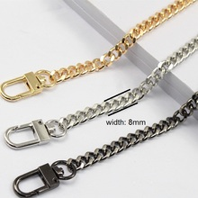 Free shipping DIY bag strap chain Wallet  handle purse metal strap chain strap replaced bag strap bag spare parts(China (Mainland))
