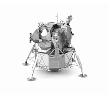Lunar Module 3D Puzzle Metal Spaceship Series Martian Rovers Artificial Satellite Stainless Steel Model DIY Jigsaw Toys