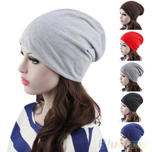 Fashion Women's Men's Winter Slouch Crochet Knit Hip-Hop Beanie Ski Hat Cap