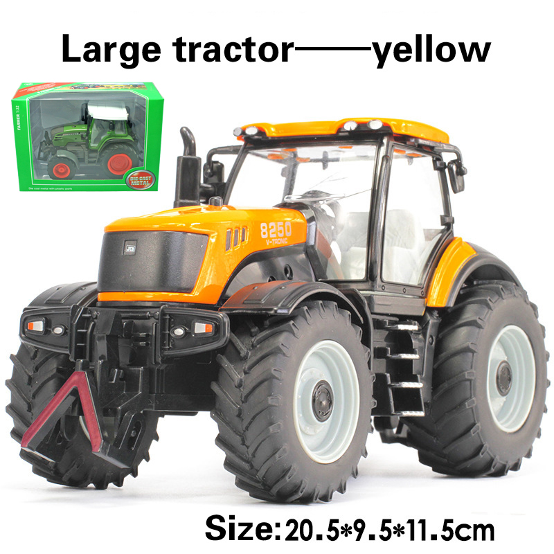Alloy engineering car tractor toy bulldozer model farm vehicle belt boy toy car model children's Day gifts(China (Mainland))