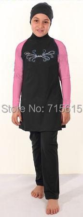 Summer New Fashion Child Muslim swimwear kids Islamic Swimsuit Beachwear Bathing suit - Yoyo Store LEBOLE store