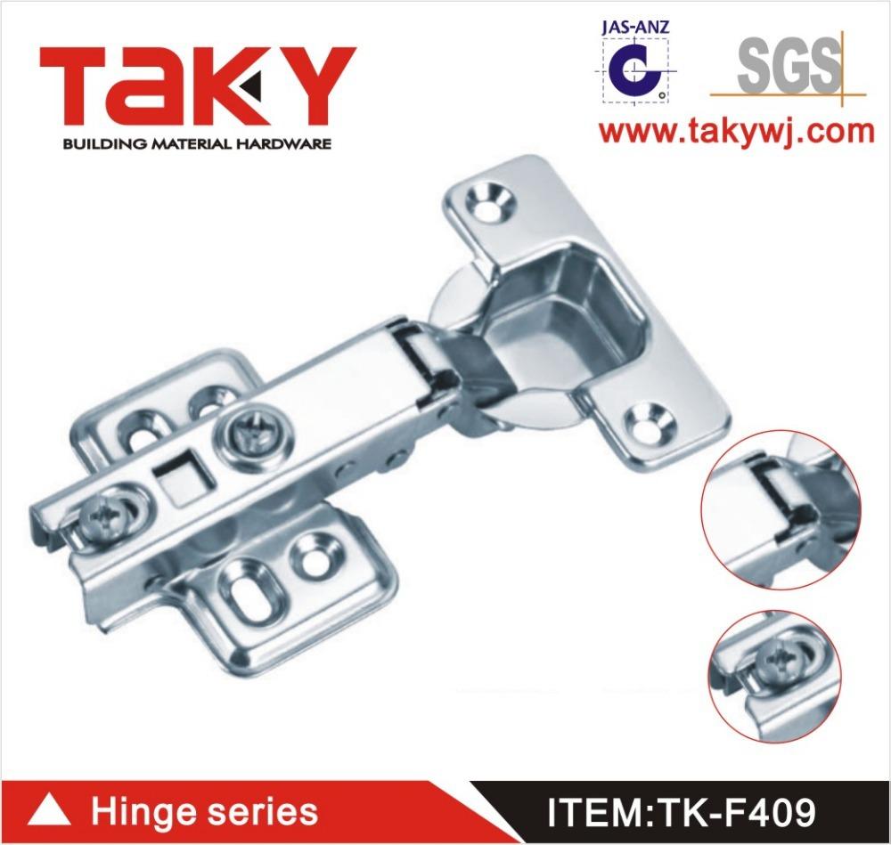 TK-F409 furniture cabinet soft closing concealed steel hinge(China (Mainland))