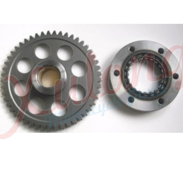 Free Shipping Motorcycle Engine parts one way Starter Clutch Gear Assy For Yamaha YP250 YP 250