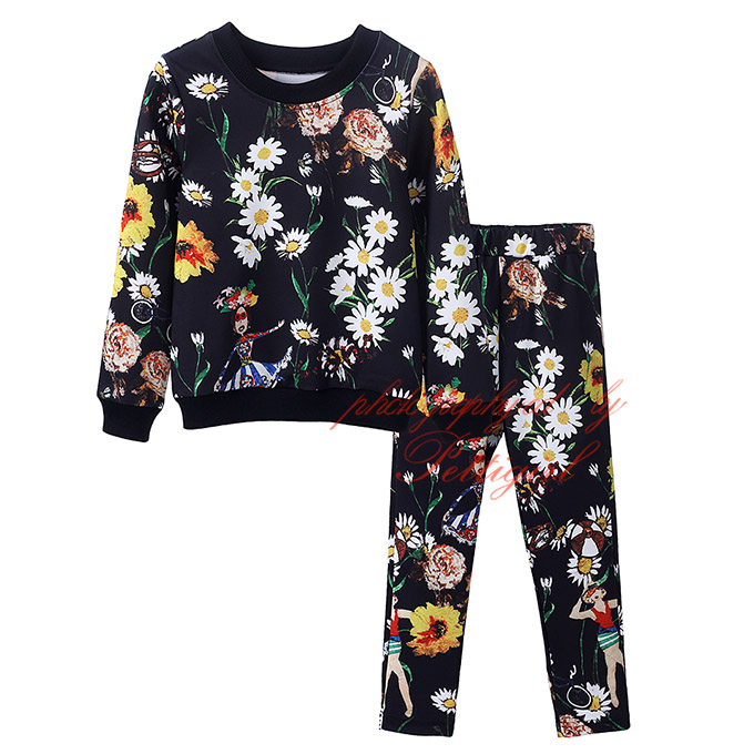 Buy 2016 fashion kids girl flower How to get cheap designer clothes