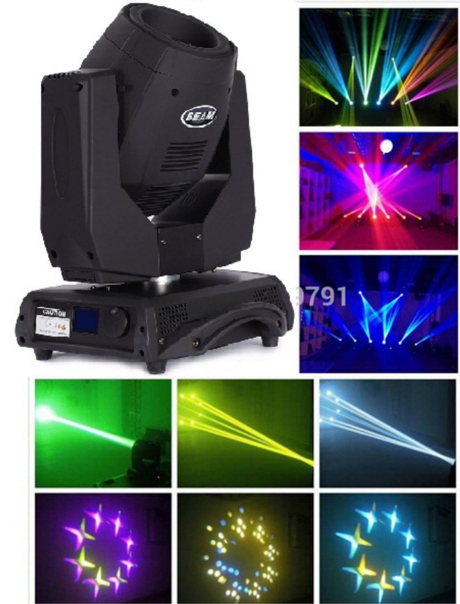Sharpy 2014 new 2R 132W moving head beam spot wash light 120W Philip lamp DMX professional stage DJ Disco effect lighting Show(China (Mainland))