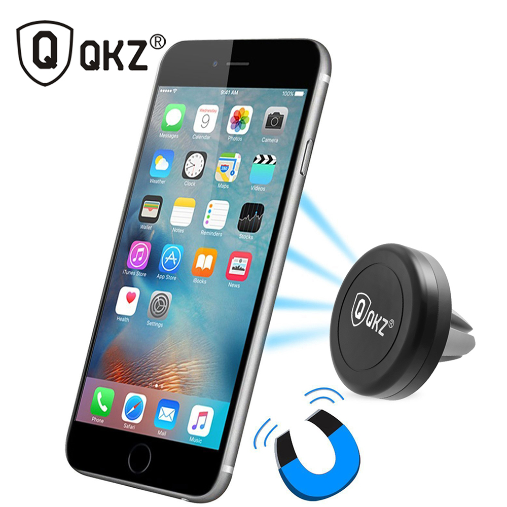 Magnetic car phone holder for samsung universal rotating stand for iphone 6 plus smartphone magnetic mobile phone holder support(China (Mainland))