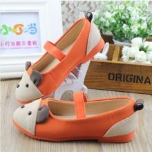 Hot Selling Fashion Children Shoes Girls Single Shoes Girls Princess Shoes Rabbit anti depilation Kids Sneakers