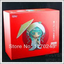 GSC Cute Nendoroid Snow Miku Strawberry White Kimono Ver. Hatsune Miku PVC 3.6″ Animation Figure 303# New In Box Free Shipping