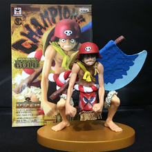 Buy Anime One Piece Film Gold Luffy Battle Axes Style Boxed PVC Action Figure Collection Model 12cm Size Toys for $13.99 in AliExpress store