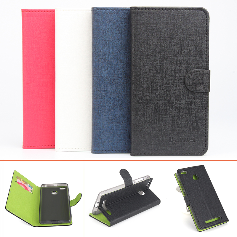 Good quality Pu leather two color nice looking mobile phone case for Xiaomi Redmi 3 pro shield card slote holder covers(China (Mainland))