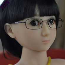 Buy Real silicone mini sex dolls,100 cm skeleton small breast love doll,100cm sex doll middle plain bust flat lifelike vagina for $476.00 in AliExpress store