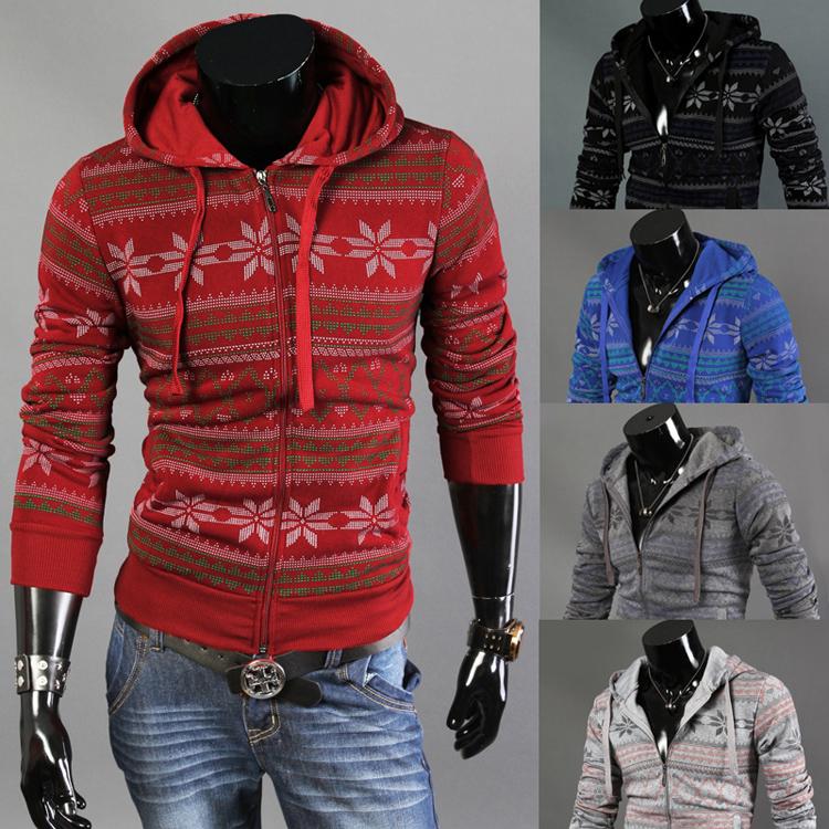 2015 spring/autumn Korean version of the male sports enthusiasts cardigans slim hoodies jacet 5 color 5 yards free shipping(China (Mainland))