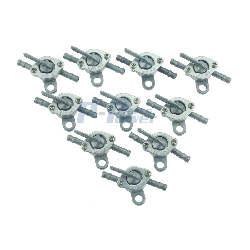 10PCS Universal Inline Fuel Pet Cock Shut Off Valve Mini Bike Dirt Bike Go Kart Buggy Bike ATV