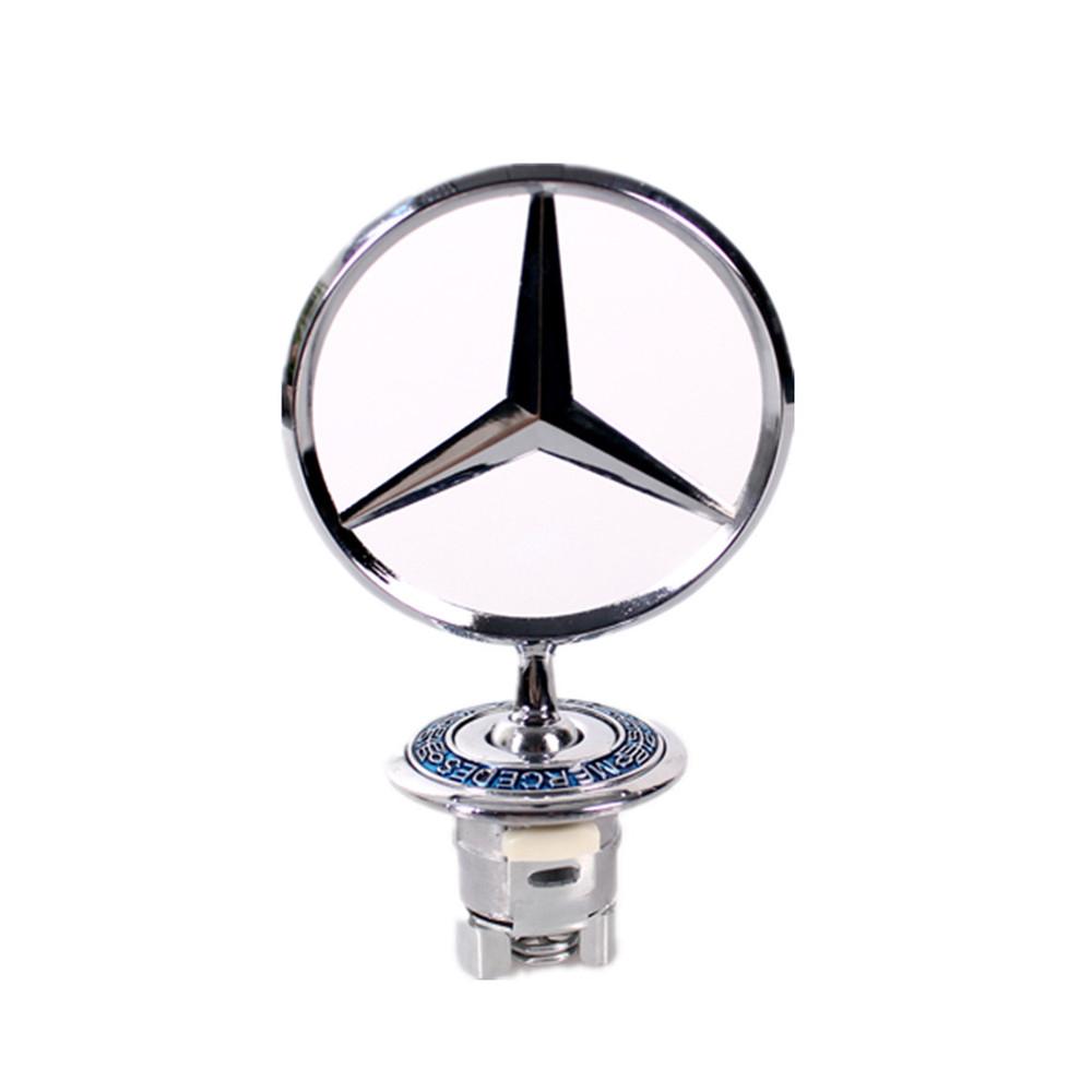Free shipping High Quality Car Badge 210, Mercedes BENZ W210 w220 benz Hood Badge Head Emblem W204 W221 W208 Symbolize(China (Mainland))