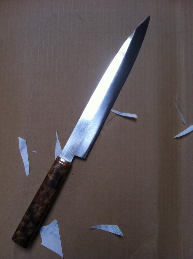 30 cm de pescado crudo sashimi cuchillo sashayed for Cuchillo de pescado