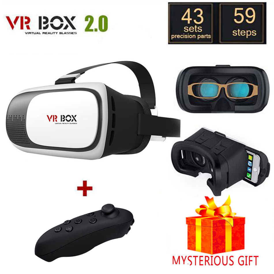 Casque 3 D Vrbox VR Box 2.0 2 II 3D Virtual Reality Glasses Goggles Headset Helmet For Smart Phone Smartphone Google Cardboard(China (Mainland))