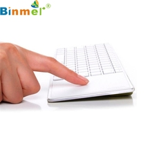 Buy Binmer Mecall Details Bluetooth 3.0 Ultra Slim Mini Keyboard Touch Pad Mouse iOS Windows Android for $14.34 in AliExpress store