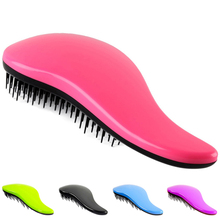 Professional Detangle Brush Paddle Beauty Healthy Styling Care Hair Comb (Please choose the color you need)(China (Mainland))