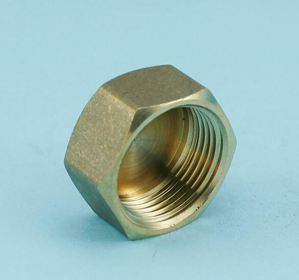 Hvac r mm brass screw cap sealing plug air