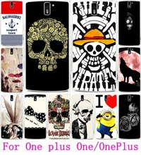 Cool Skull Head Phone Cases OnePlus One OnePlus1 Covers Soft TPU & Hard PC Housing A0001 A1000 A1001Shell Hood - 3C Products Online Store store