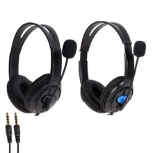 Hot Sale Wired Gaming Headset Headphones with Microphone for Sony PS4 PlayStation 4 Free Shipping OD#S