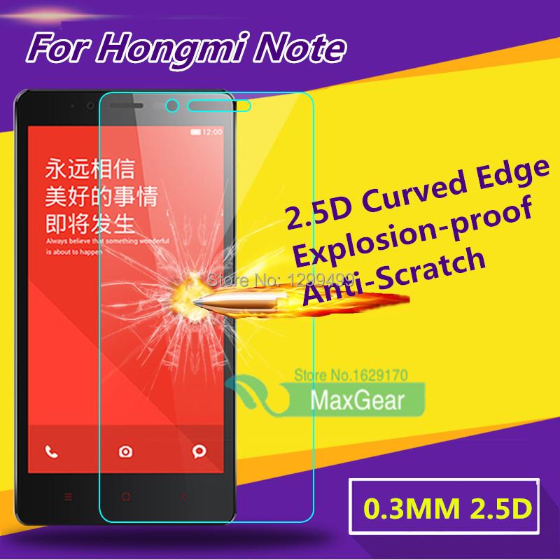 Гаджет  Retail For Xiaomi Redmi Note screen protector Anti-Explosion Tempered Glass screen protector for Xiaomi Hongmi Note Redmi Note None Телефоны и Телекоммуникации