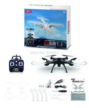 Syma X5SW X5SW-1 2.4GHz 4CH 6-Axis Gyro WiFi Real Time Video RC Quadcopter UFO FPV with Transmitter 0.3MP HD Camera