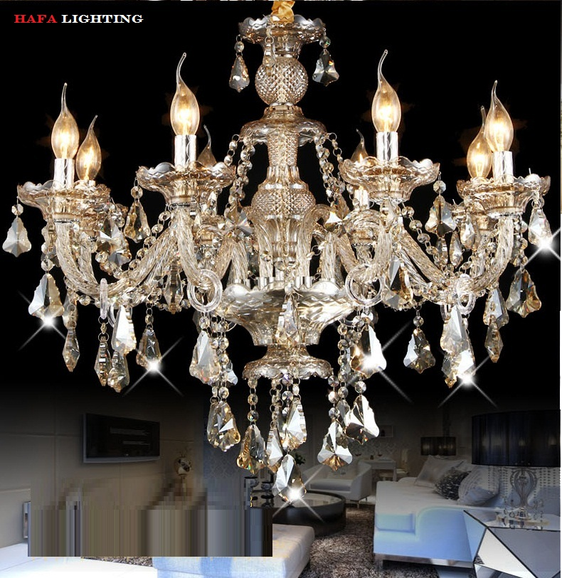 chandelier lustre crystal chandelier modern crystal chandelier lustres de cristal lampadario led crystal chandeliers lighting(China (Mainland))