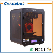 New Product 150 150 220mm Createbot Black Mini 3D Printer with Most Affordable Price but High
