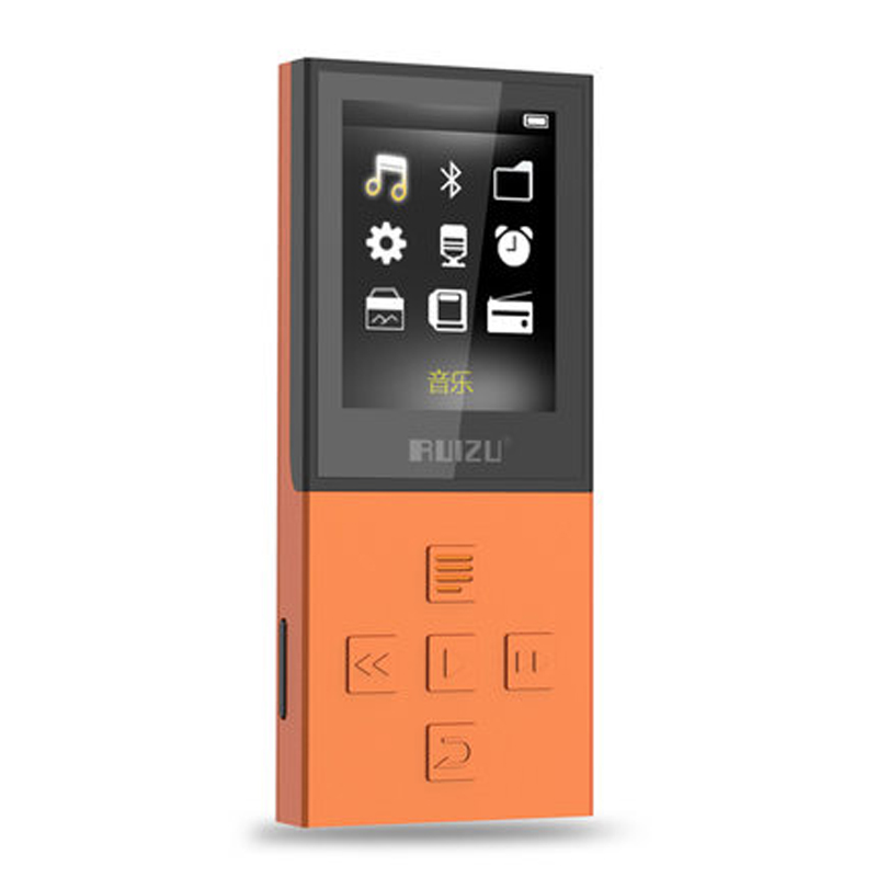 Original RUIZU X18 Latest Version Bluetooth 4.0 Sport MP3 Player with 8G can playing130 Hours high quality lossless Recorder FM(China (Mainland))