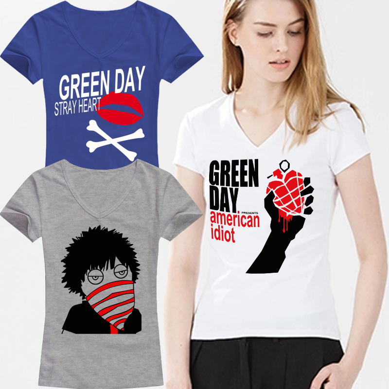 Green Day Shirts For Girls Green Day Women t Shirt