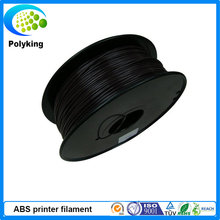 Black Colour 3D Printer Filament PLA ABS 1.75mm 3.0mm 1kg/2.2lbs Plasic FDM Consumable Material for MakerBot/RepRap/UP/Mendel