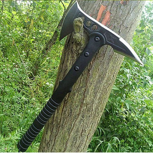 SOG AXE M48 Tomahawk Army Indian Outdoor Hunting Camping Axe Tool Fire Axe Mountain-cutting Hatchet Free Shipping(China (Mainland))