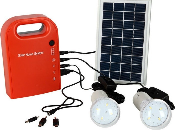 5W 10W hand lamp solar lighting system solar power system(China (Mainland))